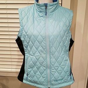 GUC Marmot Blue Teal and Black Vest XL